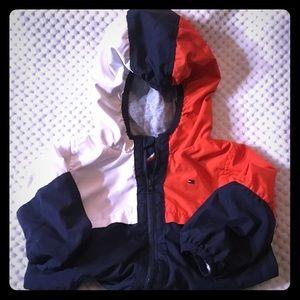 Tommy Hilfiger light hooded jacket 6/9 month